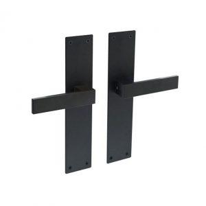 intersteel deurkruk amsterdam met schild
