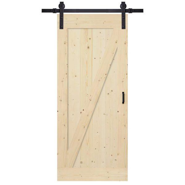 loftdeur houten schuifdeur minimal